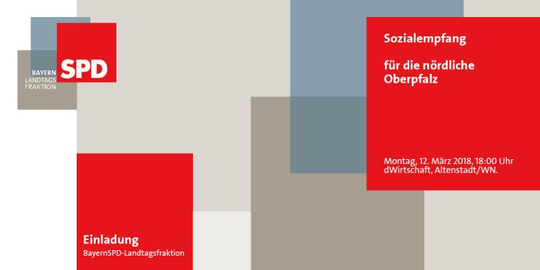 Sozialempfang für die nördliche Oberpfalz mit MdL Horst Arnold